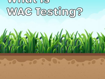 WAC Testing and Waste Classification Testing