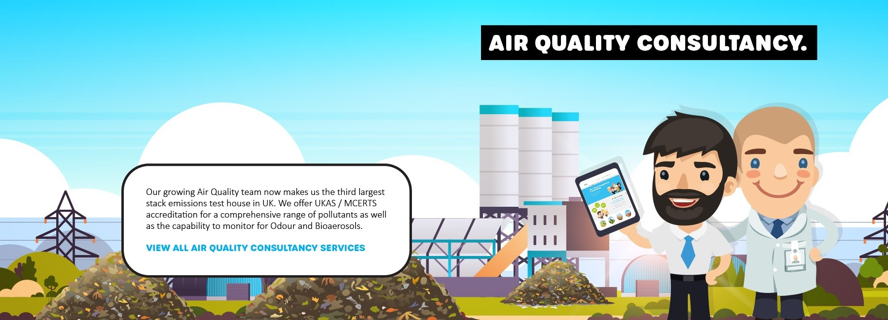 ECL Air Quality Consultancy Banner